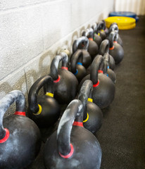 Kettlebells At Cross Fitness Box