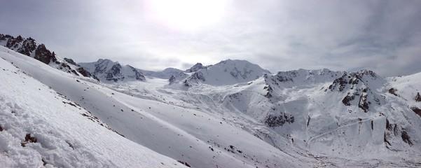 almaty mountains.