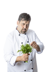 chef and parsley