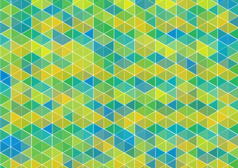 modern vector background with green tiles