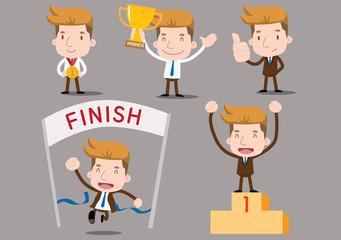 Businessman series - winner set