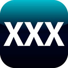 xxx blue button or icon