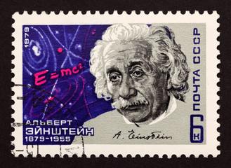 """USSR postage stamp """"Albert Einstein"""""""