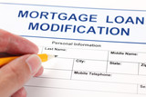 Mortgage Loan Modification application form poster