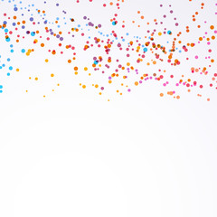 Bright colorful paint splash dot background
