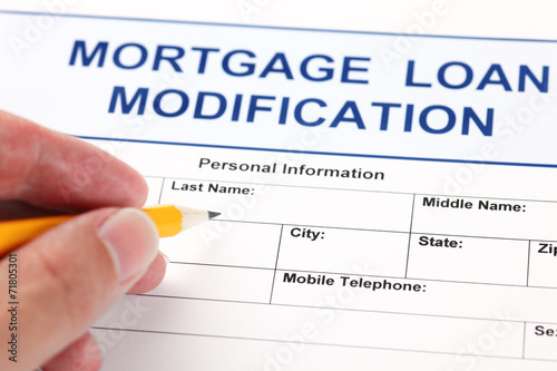 Mortgage Loan Modification application form