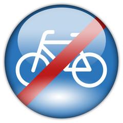 Button Patch Radfahren verboten