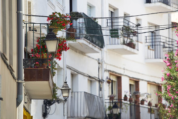 City street . Europe. Spain