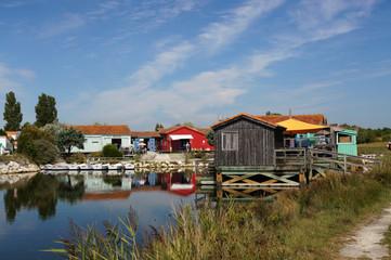 Cabane au Port des Salines - Île d'Oléron