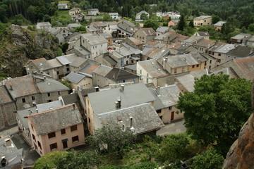Village de Quérigut,Pyrénées