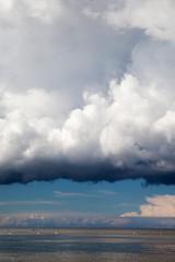 Big cloud over Baltic.