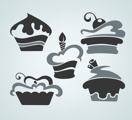 cakes images, symbols and emblems