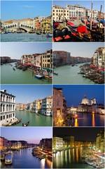 landmarks of Venice, Italy