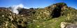 Leinwanddruck Bild - La Souffrière volcano in Guadeloupe