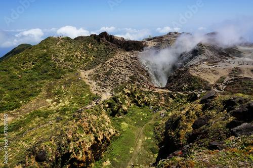 La Souffrière volcano in Guadeloupe - 71809745