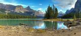 Spirit Isalnd in Maligne Lake poster