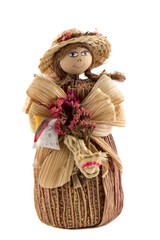 doll from corn