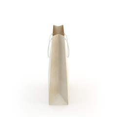 Paper bag , isolated