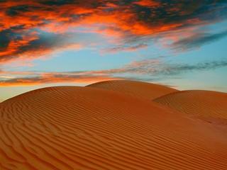 Tramonto Deserto