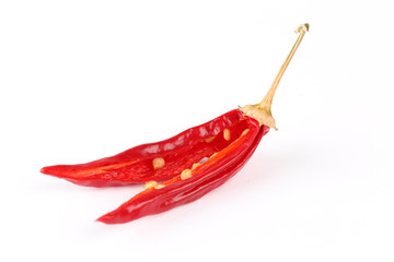 Halbierte Chili