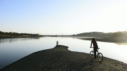 bisiklet ve doğa sevgisi
