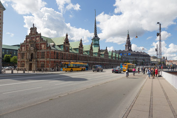 Straße nach Christiansborg
