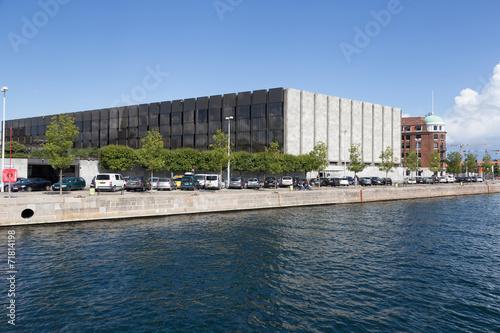 canvas print picture Nationalbank in Kopenhagen