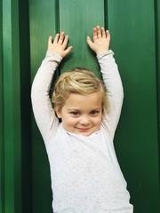 4 Jahre altes Mädchen