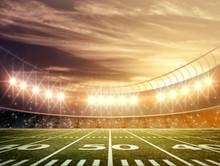 Licht des Stadions