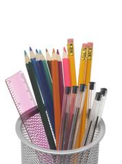 Pot and Pencils
