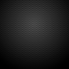черный узор зигзага на черном фоне