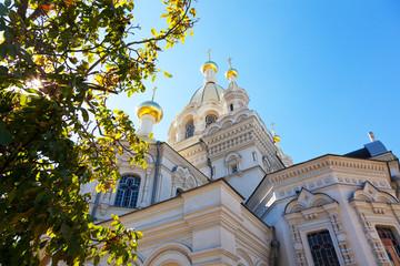 Pokrovsky Cathedral in Sevastopol,  Crimea, Russia