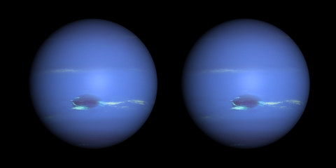Neptune stereo pair. For 3D images in any format.