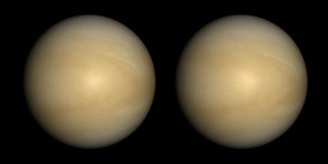 Venus stereo pair. For 3D images in any format.