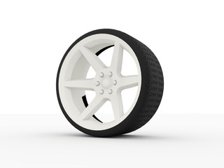 Car wheel with