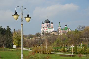 The Feofaniya park in Kyiv