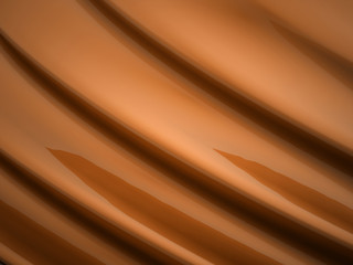 Orange waves background