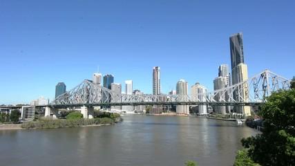 Brisbane Skyline - Queensland Australia