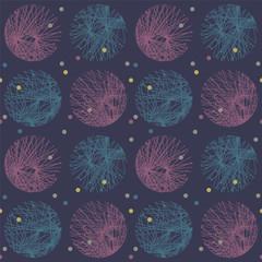dark abstract circle pattern