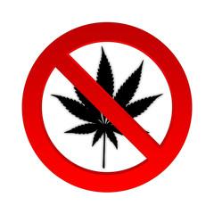 Drogen verboten