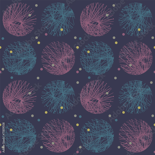 dark abstract circle pattern