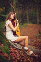 Autumn musicican