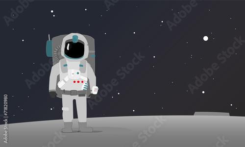 Fototapeta an astronaut