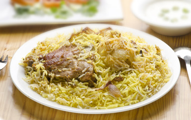 Yummy Chicken Biryani