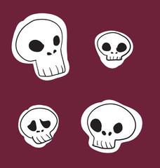 забавные черепа