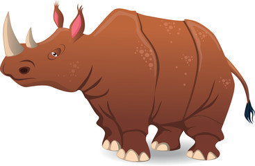 Rhinoceros - Illustration