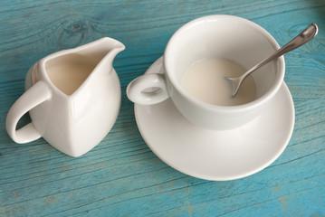 tasse de lait