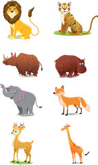 Wild Animals - Illustration