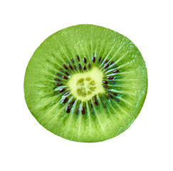kiwi fruit food slice section tropical