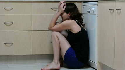 Woman domestic violence